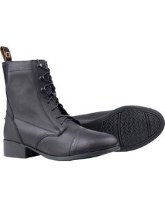 Dublin Kids' Elevation Laced Paddock Boots, , hi-res