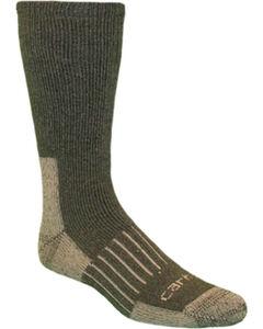 Carhartt Moss Full-Cushion Recycled Wool Crew Socks, , hi-res