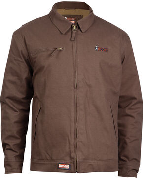 Rocky Men's WorkSmart Waterproof Short Jacket, Brown, hi-res