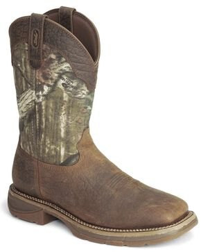 Durango Rebel Camo Work Boot - Square Toe, Camouflage, hi-res
