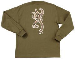Browning Youth Boys' Mo Country Buckmark Long Sleeve T-Shir, , hi-res