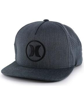 Hurley Men's Dri-Fit Icon 2.0 Snap Back Ball Cap, Black, hi-res