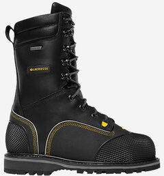 "LaCrosse Longwall II 10"" Waterproof Insulated Work Boots - Composite Toe , , hi-res"