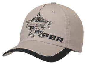 PBR Logo Screen Print Cap, Grey, hi-res