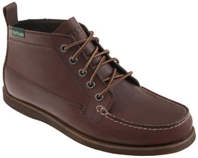 Eastland Men's Brown Seneca Camp Moc Chukka Boot , Brown, hi-res