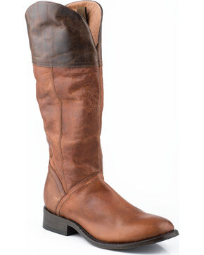 "Stetson Abbie 15"" Riding Boots, Brown, hi-res"