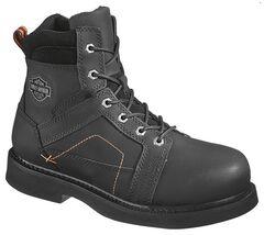 Harley Davidson Men's Pete Lace-Up Boots - Steel Toe, , hi-res