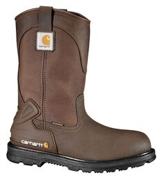 "Carhartt 11"" Bison Waterproof Mud Wellington Work Boots - Safety Toe, , hi-res"