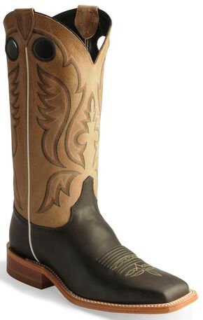 Justin Bent Rail Cowboy Boots - Square Toe, Toast, hi-res