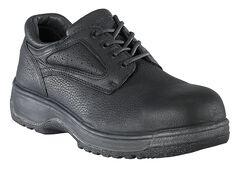Florsheim Men's Fiesta Composite Toe Black Lace-Up Oxford Shoes, , hi-res