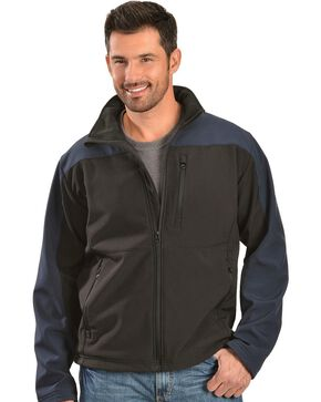 Red Ranch Men's Two-Tone Bonded Jacket, Black, hi-res