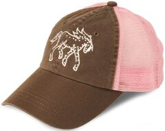 Girls' Rhinestone Pony Cap, , hi-res