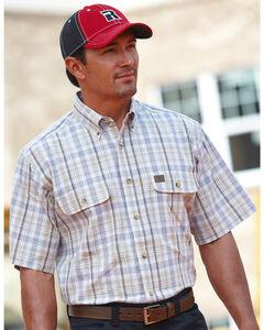 Wrangler Riggs Foreman Plaid Western Shirt, , hi-res