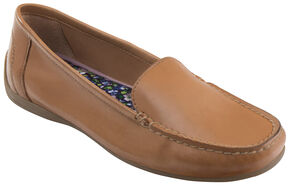 Eastland Women's Wheat Tan Crystal Slip-On Loafers , Tan, hi-res