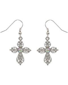 Shyanne Women's Victorian Cross Earrings, , hi-res
