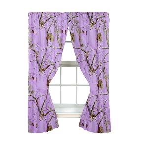 Realtree Lavender Camo Drapes, Camouflage, hi-res