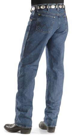 Wrangler Men's 47MWZ Dark Stone Regular Fit Jeans, , hi-res
