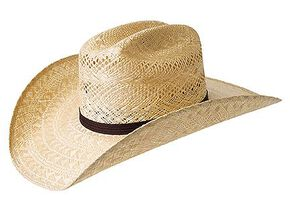 Bailey Kace 10X Straw Cowboy Hat, Natural, hi-res