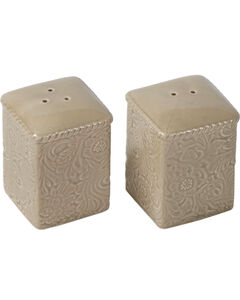 HiEnd Accents Savannah Salt & Pepper Shakers - Taupe, , hi-res