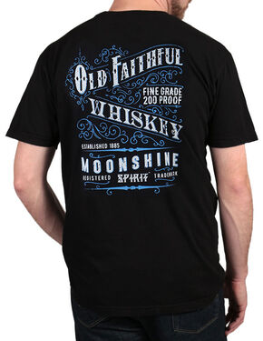 Moonshine Spirit Men's Old Faithful T-Shirt, Black, hi-res