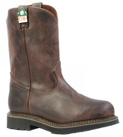 Boulet Laid Back Copper Western Work Boots - Steel Toe, , hi-res