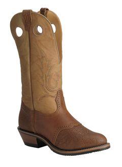 Boulet Buckaroo Saddle Cowboy Boots - Round Toe, , hi-res