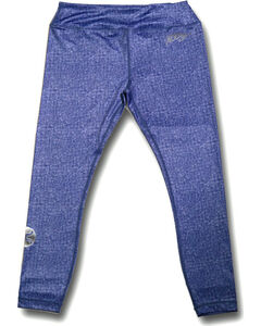 Hooey Women's Blue Denim Yoga Leggings, , hi-res