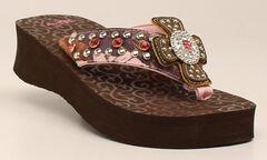 Blazin Roxx Women's Camie Flip Flops, , hi-res
