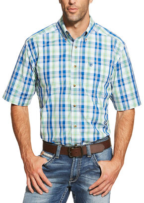 Ariat Men's Multi Brandon Short Sleeve Shirt, Multi, hi-res