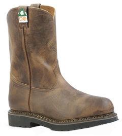 Boulet Hillbilly Golden Work Boots - Steel Toe, , hi-res