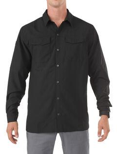 5.11 Tactical Freedom Flex Woven Long Sleeve Shirt, , hi-res