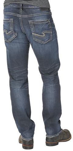 Silver Men's Eddie Relaxed Fit Tapered Leg Jeans, , hi-res