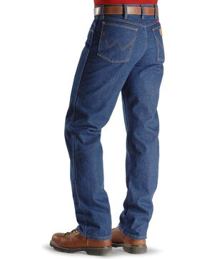 Flame-Resistant Wrangler Jeans - 31MWZ Relaxed Fit, Denim, hi-res