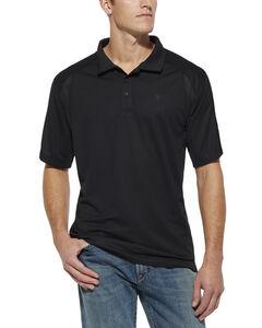 Ariat Black AC Tek Polo Shirt, , hi-res