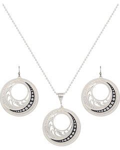 Montana Silversmiths Western Lace Winding Jewelry Set, , hi-res