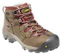 Keen Women's Detroit Mid Waterproof Boots - Steel Toe, , hi-res