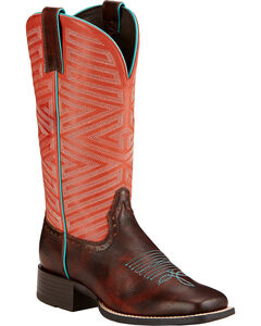 Ariat Outsider Cowgirl Boots - Square Toe , , hi-res