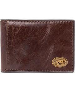 Jack Mason Men's University of Arkansas Legacy Flip Bifold Wallet, , hi-res