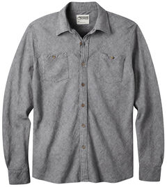 Mountain Khakis Men's Navy Yak Herringbone Shirt, , hi-res