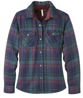 Mountain Khakis Women's Christi Fleece Lined Shirt, Green, hi-res