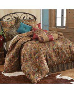 HiEnd Accents San Angelo Leopard Print King Size 4 Piece Comforter Set, , hi-res