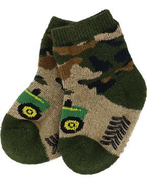John Deere Infant's Camo Booties, Camouflage, hi-res