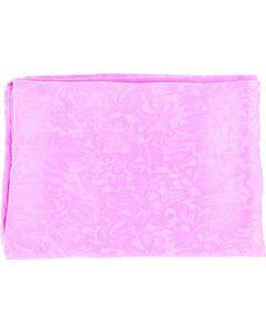 Hot Pink Jacquard Silk Wild Rag, , hi-res
