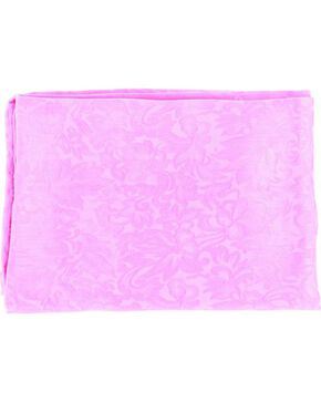 Hot Pink Jacquard Silk Wild Rag, Hot Pink, hi-res