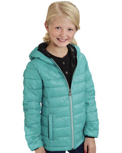 Roper Girls' RangeGear Crushable Hooded Jacket , , hi-res