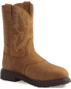 Ariat Sierra Cowboy Work Boots - Steel Toe, , hi-res