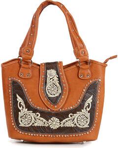 Savana Women's Embroidered Western Shoulder Bag , , hi-res
