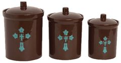 HiEnd Accents Cross Canister Set, , hi-res