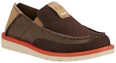 Ariat Kid's Chocolate Cruiser Shoes - Moc Toe, , hi-res