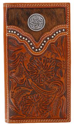 Cody James Men's Hair-on-Hide Rodeo Wallet, , hi-res